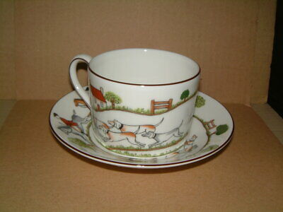 £45 • Buy Wedgwood Hunting Scene Pattern - Cup & Saucer