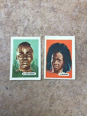 £0.99 • Buy Kelloggs Trading Cards - 2 From Peoples Of The World Series Of 15 - 1945