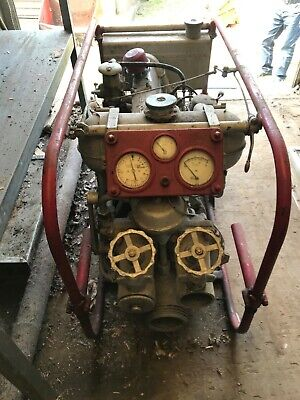 £500 • Buy Green Goddess Godiva Fire Pump With Coventry Climax Engine With Original Hoses