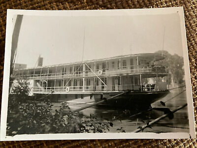 """£3.99 • Buy WWII Photo Houseboat """"Egypt"""" Used As RAF Officer's Mess Cairo"""