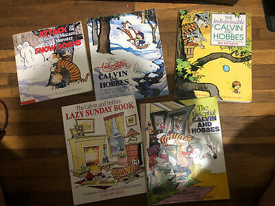 £6.56 • Buy Calvin And Hobbes Books Lot