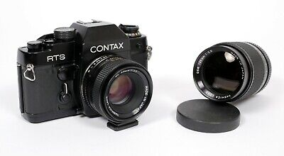 $ CDN288.28 • Buy Contax RTS 35mm SLR Film Camera With Yashica 50mm And 135mm Lenses