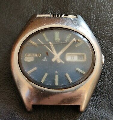 $ CDN45.05 • Buy Vintage Seiko 6119-5421 Automatic Watch Men Dial Blues Day-Date Parts