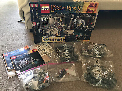 £72.10 • Buy LEGO Lord Of The Rings 9473 Mines Of Moria - Retired - Incomplete Sealed Bags