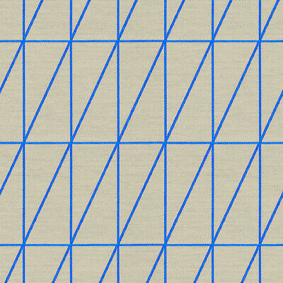 $29.99 • Buy 1 1/8 Yd Maharam Bright Angle Cyan Scholten Upholstery Fabric Free Ship C6645