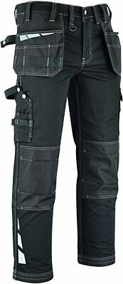 $46.12 • Buy Mens Work Cargo Combat Cordura Holster Pockets Working Work Trousers Pants Jeans