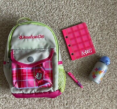£20 • Buy American Girl Doll Backpack With Accessories Retired