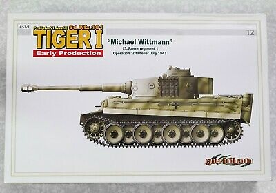 £32 • Buy Cyber Hobby Dragon 1/35 Tiger I Early Production Michael Wittmann  6350