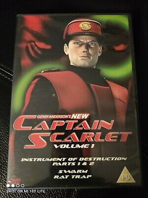 £2.75 • Buy Captain Scarlet - Episodes 1 To 4 (DVD, 2005) Gerry Anderson DVD