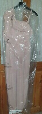 £16 • Buy Next Girls Pink Wedding Bridesmaid Party Prom Dress Age 16 Years BNWT