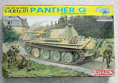 £21.89 • Buy Dragon 1/35 Smart Kit Sd.Kfz.171 Panther G Late Production 6268