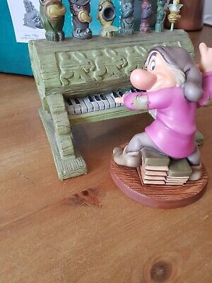 £119.99 • Buy Walt Disney Classics Collection Grump And Pipe Organ Snow White Retired WDCC