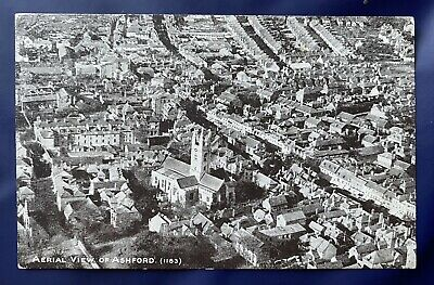 £29.99 • Buy Kent ASHFORD RP PPC Aerial View New St, New Rents, Bank St, Upper High S PU 1921