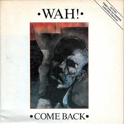 £9.99 • Buy Wah! Come Back Pete Wylie Canadian Rare 7  Unique Poster Sleeve 1984