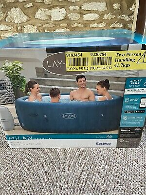 £640 • Buy Brand New2021 Lay-Z-Spa Milan 6 Person Smart Hot Tub ✅ Trusted Seller