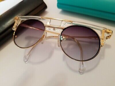$150 • Buy Sunglasses Cazal Legends 745/3 005 Gold Womens - Silver Mirror 48 21 150 Used 1