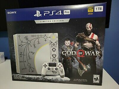 AU285.35 • Buy PlayStation (PS4) Pro Limited Edition God Of War Console & Controller 1TB (READ)