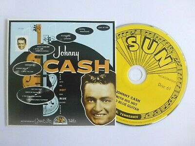 £10 • Buy JOHNNY CASH  With His Hot And Blue Guitar (1957) CD  Mini-LP Slipcase 28 Songs