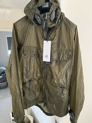£102 • Buy Mens Cp Company Nyber Explorer Jacket Olive Size UK 42/IT 52 XL RRP £895