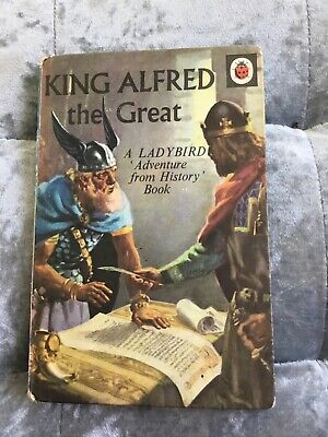 £5.99 • Buy 🐞 Vintage Ladybird Book, King Alfred The Great, 1960s 🐞