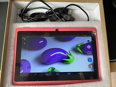 AU7.46 • Buy Haehne 7 Tablet PC Google Android Quad Core A33 Dual Cameras Bluetooth WiFi Pink
