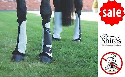 £22.95 • Buy MESH FLY TURNOUT SOCKS Shires Airflow Arma Boots Horse Leg Protection From Bites