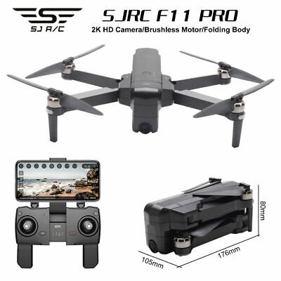£209 • Buy SJRC F11 Pro 4K GPS Drone Wifi FPV HD Camera 2-Axis Gimbal Brushless Quadcopter