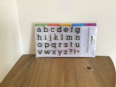 £1.75 • Buy BRAND NEW PACK OF 29 RUBBER STAMPS/CLEAR/Small Letters Etc..
