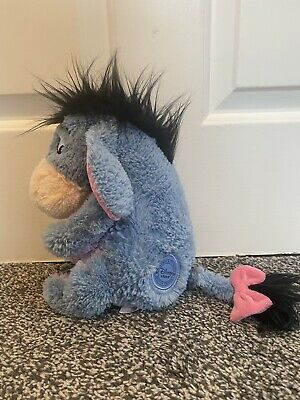 £15 • Buy Disney Store Stamped Eeyore Soft Toy Plush Fluffy Winnie The Pooh