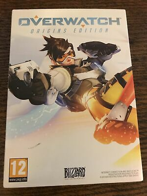 AU11.30 • Buy Overwatch Origins Edition PC DVD Game In Fold Out Sleeve VGC
