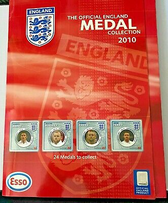 £7.50 • Buy 2010 - Esso England World Cup Medal Collection Complate
