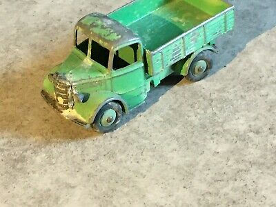 £7.99 • Buy Vintage Dinky Bedford Tipper Truck In Green. Very Old And Playworn.