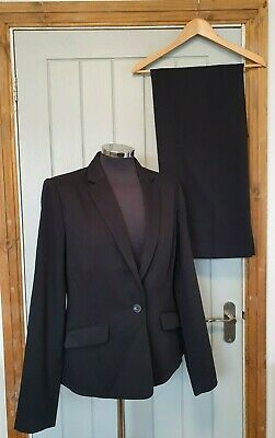 £79.95 • Buy Long Tall Sally Versatile Textured Trouser Suit Size 12 Blazer Brand New Tags