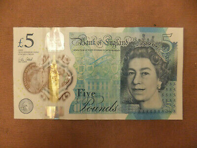 £13.95 • Buy Collectable British Five Pound £5 Note Very Low Serial Number 000950