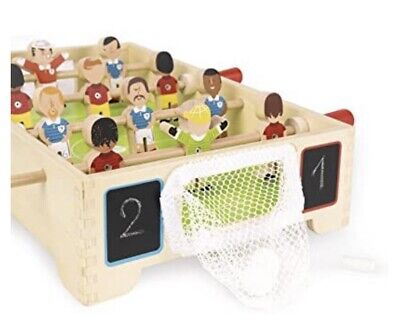 £14.99 • Buy Janod Mini Wooden Table Football Excellent Condition Age 3+ Kids Children's Game