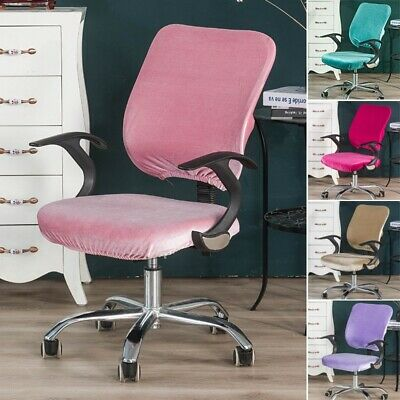 AU17.60 • Buy Office Chair Cover Computer Chair Slipcover Plush Soft Chair Protector