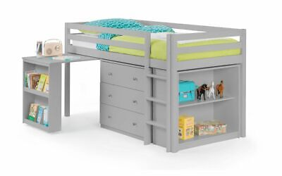 £439.99 • Buy Roxy Sleepstation In Lacquered Dove Grey Shelves And Drawers 2 Man Home Delivery