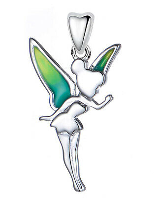 £16.95 • Buy Fairy Charm Tinkerbell Princess Angel Pendant S925 Sterling Silver - Gift Boxed