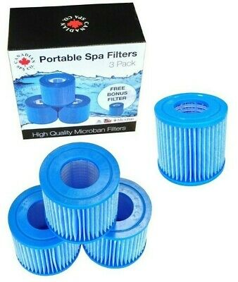 £50 • Buy Portable Filter 4pk For Canadian Spa Grand Rapids With Silver Ion