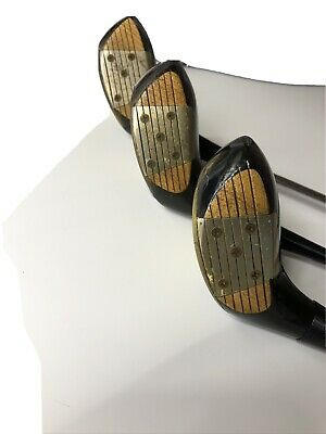 $74.99 • Buy Matched Set MacGregor Tourney MT2 3,4,5 Persimmon Woods Aluminum Face Inserts