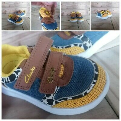 £14.99 • Buy Baby/Kids Boys Clarks Woody 'Toy Story' ' Trainers: Size UK 4G Infants Excellent