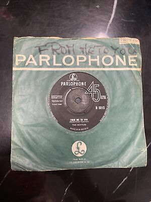 £3.20 • Buy The Beatles / From Me To You/  Thank You Girl. Record. Parlophone EX+ R 5015