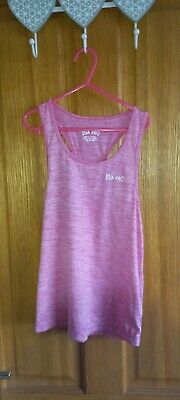 £1.25 • Buy Pink Vest Top By USA Pro - Aged 9-10yrs