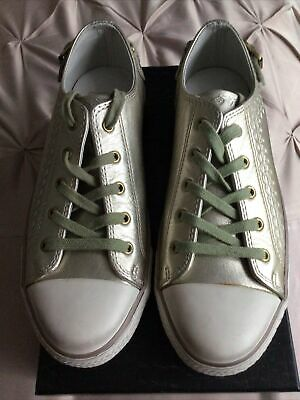 £20 • Buy Ash Trainers Size 7 Leather Low Top Lace Up Shoes Sneakers EU 40