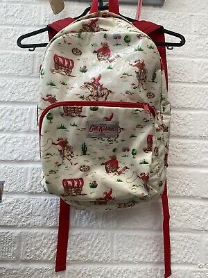 £10 • Buy Cath Kidston Kids Large Cowboy Oilcloth Backpack