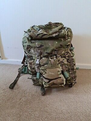 £25 • Buy Genuine British Army MTP Short Back Bergen With  Pouches
