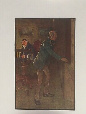 £9.95 • Buy Cecil Aldin Vintage Print - HELLISH DARK AND SMELLS OF CHEESE