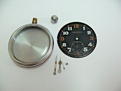 $79.99 • Buy Jaeger Lecoultre - Wwii British Forces Gstp Military Pocket Watch Case, No Mvmt!
