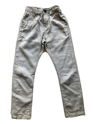£5 • Buy Next Boys Linen Twisted Fit, Adjustable Waist Trousers Age 5