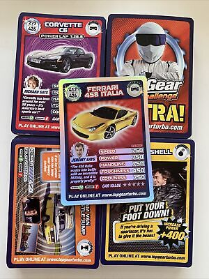 £0.99 • Buy Top Trumps Top Gear Turbo Challenge Extra! 128 Of 149 Cards Including Super Rare